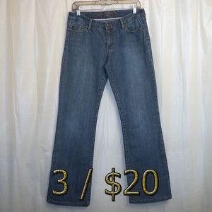 3/$20 Tommy Hilfiger BootCut Jeans Women 4R 4(X31)